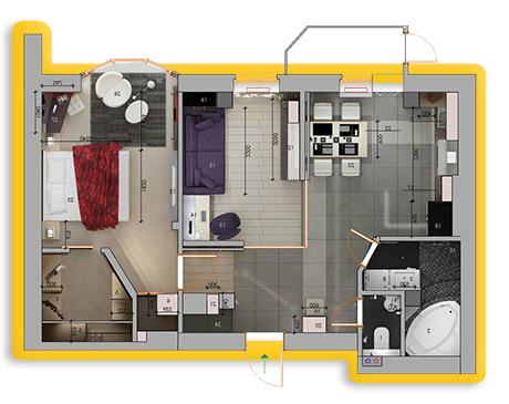внутренняя отделка квартиры