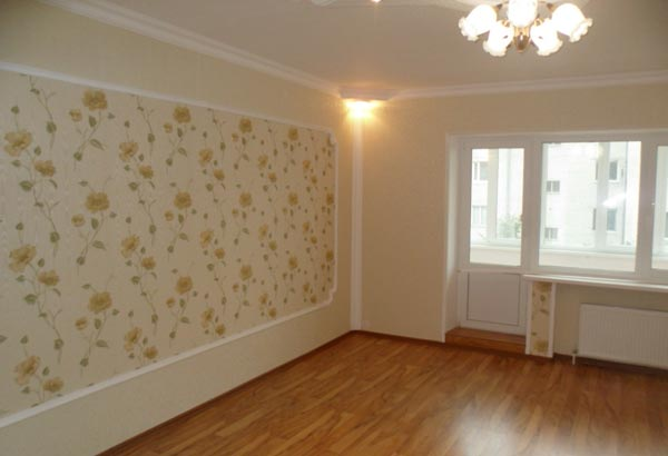 Ühetoalise korteri remont Tallinnas 33 m². 1000 €